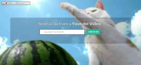 Crea GIFs a partir de vídeos de YouTube en pocos segundos con GIF YouTube