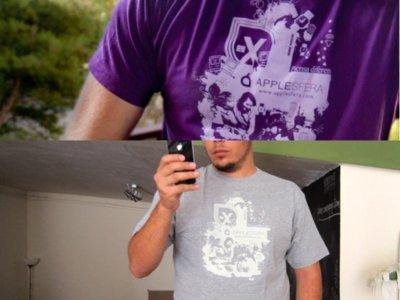Nueva impresión de las camisetas de Applesfera, ahora disponibles sin gastos de envío