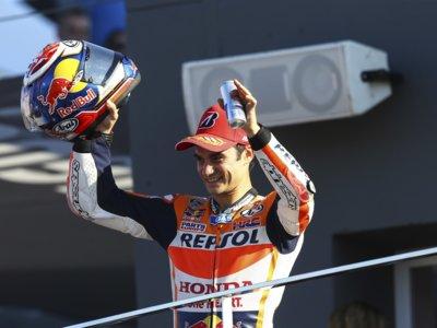 Dani Pedrosa alcanza los 100 podios en MotoGP