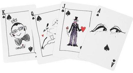 Un regalo curioso para Reyes: baraja de cartas de Lanvin