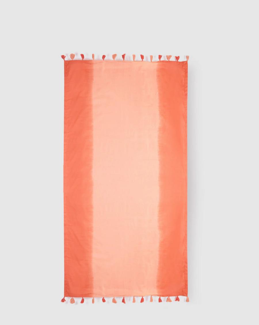 Kikoy de mujer coral Easy Wear dye