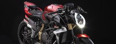 Exageración desnuda en fibra de carbono y 208 CV: así es la nueva MV Agusta Brutale 1000 Serie Oro