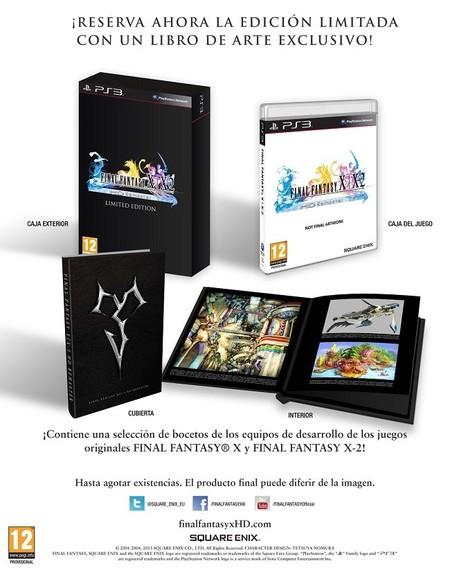 Final Fantasy X y X-2 HD