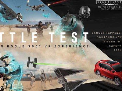 Video: Nissan Rogue se une a la batalla de Rogue One: Una Historia de Star Wars