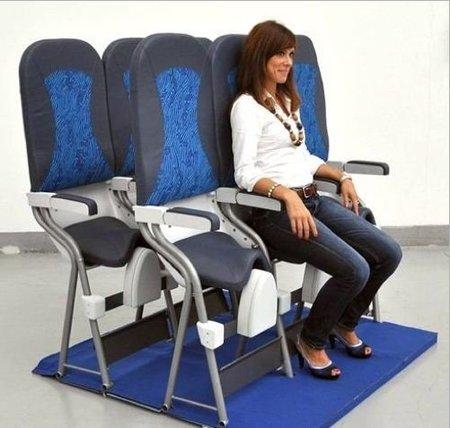 Skyrider: un nuevo tipo de asiento para aviones