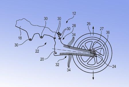 Bmw Patente Chasis Basculante Fibra Carbono