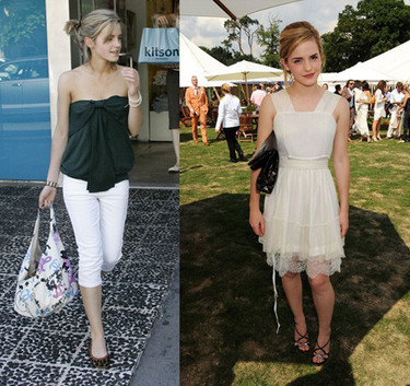 Emma Watson guapísima tanto de calle como de fiesta