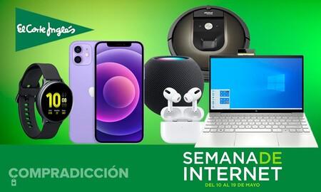Semana de Internet en El Corte Inglés: smart TVs, smartphones, smartwatches, robots aspirador, auriculares y más a precios superrebajados
