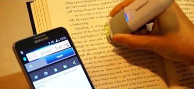 WorldPenScan X, un escáner portátil para digitalizar y traducir textos en Android e iOS