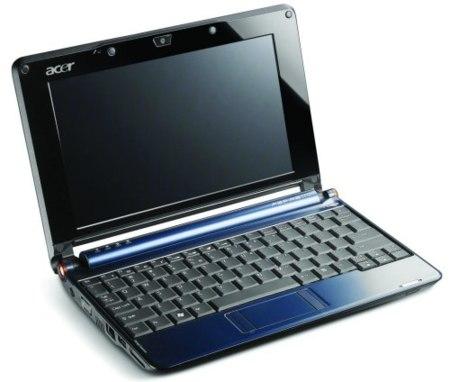 Acer Aspire One de 10 pulgadas para febrero de 2009