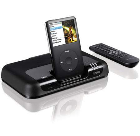 Creative MovieWorks HD, dock para el iPod con reescalado y tecnología Creative Xi-Fi