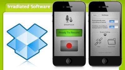 Dropvox, graba notas de voz y súbelas directamente a DropBox