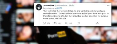 """Pornhub, el """"YouTube del porno"""", ha dejado de serlo. Y los aficionados al contenido chungo se están quejando"""