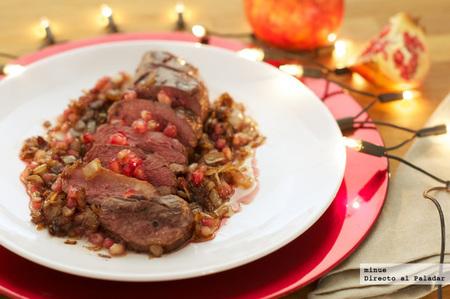 Magret de pato con salsa de granada receta de navidad for Comidas para nochevieja