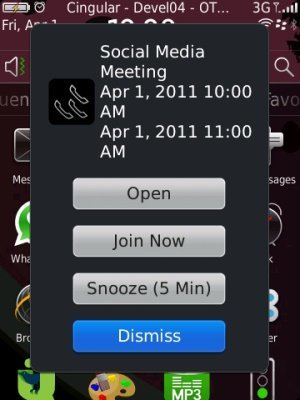 BlackBerry Mobile Conferencing llega a versión beta