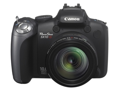 Canon PowerShot SX10, con zoom de 20 aumentos