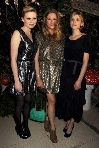 Las celebrities que no se quisieron perder Mulberry en la Semana de la Moda de Londres