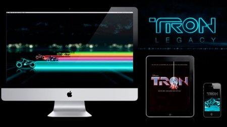 Recopilación para los fans de Tron: juegos, música, fondos de escritorio,...