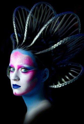 Katy Perry, ese extraño ser a medio camino entre un alien y un personaje de Avatar