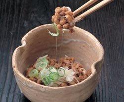 El natto, un derivado de la soja