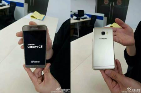 Samsung Galaxy C5 y Galaxy C7, nueva información se filtra