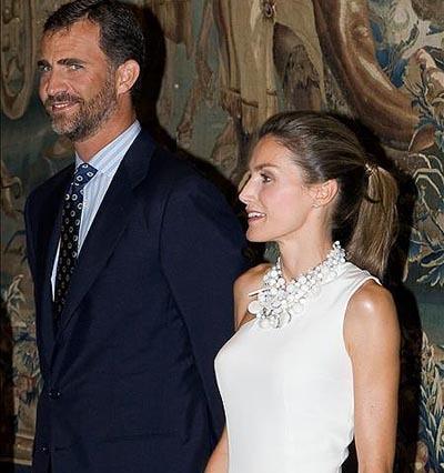 La Princesa Letizia también luce la coleta de moda
