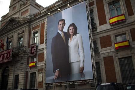 Oficial Felipe VI Letizia Ortiz rey reina