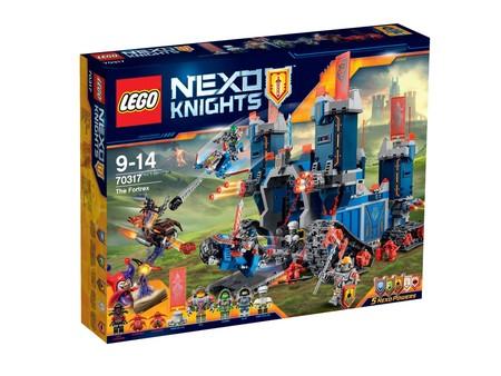 Fortaleza Fortrex, de Lego Nexo Knights, con 35 euros de descuento