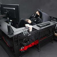 En Japón han creado una cama gaming con la que no necesitarás nada más para jugar a tus juegos favoritos mientras descansas