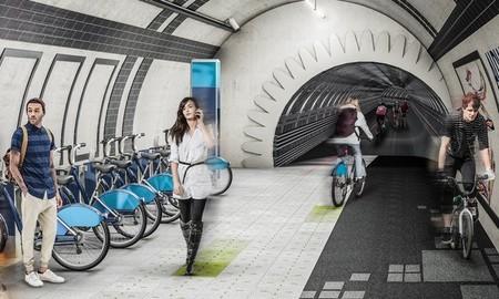 Londres aspira a convertirse en un hormiguero para los ciclistas y peatones reutilizando túneles subterráneos