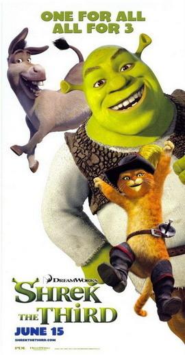 Posters personalizados de 'Shrek Tercero'