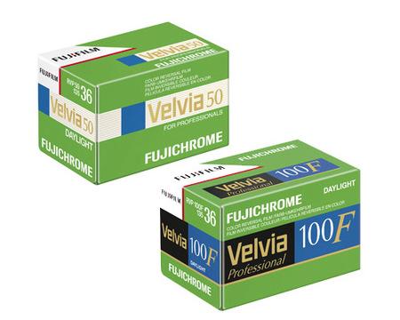 Fujifilm dejará de fabricar dos gamas de película profesional
