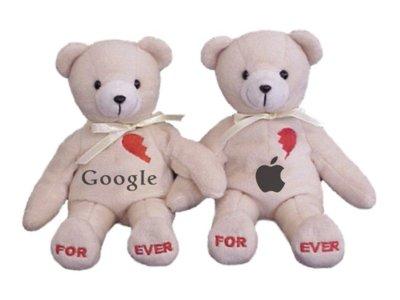 Google confiesa que no tiene ninguna guerra con Apple