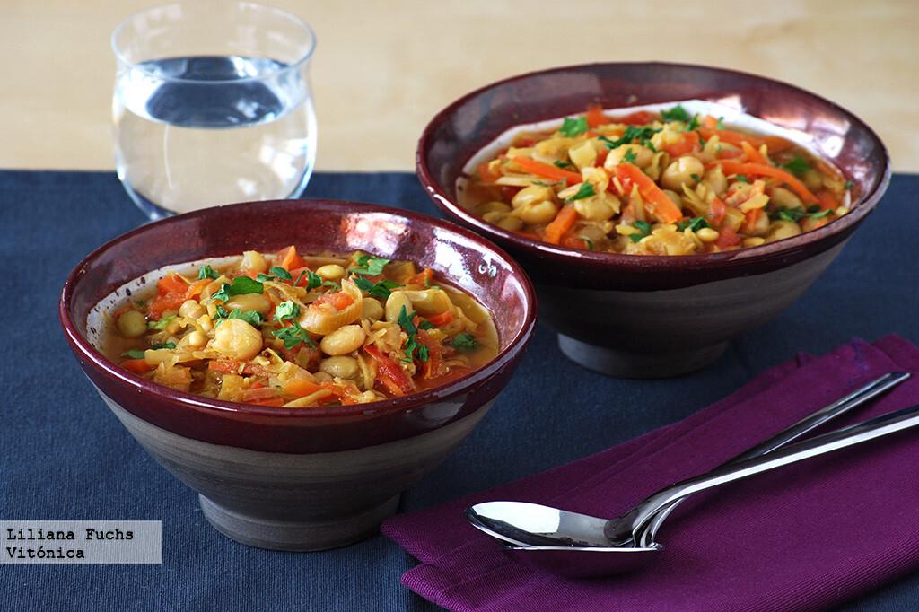 13 recetas de platos de cuchara ricos en fibra, para saciarnos fácilmente