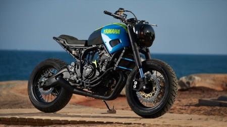 Saluda a Otokomae, la minimalista Yamaha XSR700 de Ad Hoc Café Racer