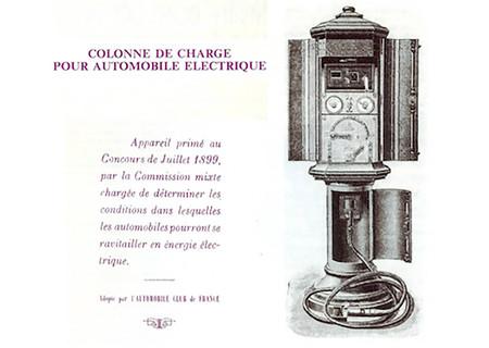 Columna De Recarga Para Coche Electrico