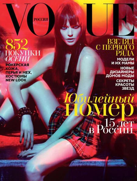 Vogue Rusia septiembre 2013