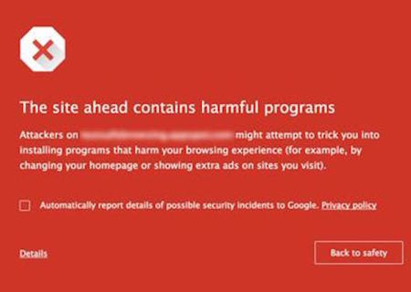 Googlesecurity Warning