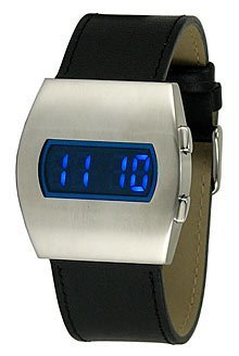 Tilt Sensor LED Watch, reloj sensible al movimiento
