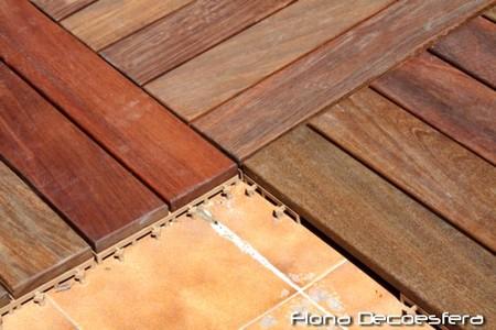 Diario de a bordo instalamos suelo de madera en la terraza for Suelo de madera terraza