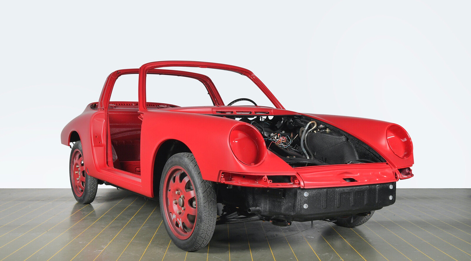Foto de El Porsche 911 S Targa de 1967 restaurado por Porsche Classic (10/15)