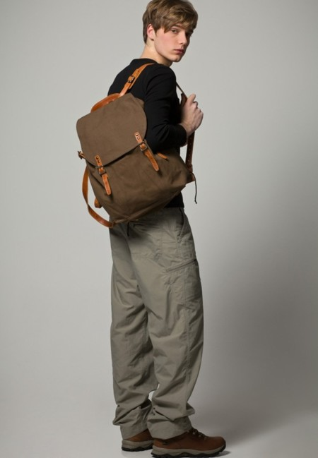 La mochila `legionaria´ de la firma danesa Royal RepubliQ