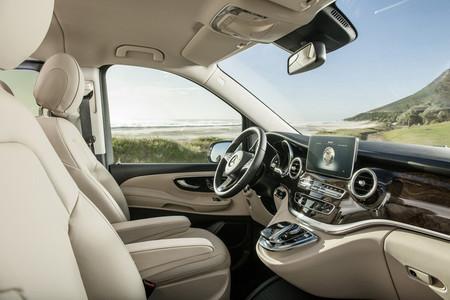 Mercedes-Benz Clase V - interior