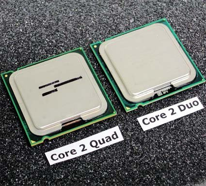 Primeros benckmarks de los Intel Quad Core 'Kentsfield'