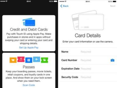 Con la llegada de la segunda beta de iOS 8.1 tenemos las primeras imágenes de configuración de Apple Pay