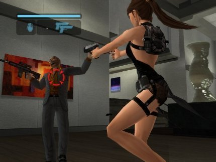 Tomb Raider: Legend, donde Lara cada vez lleva menos ropa