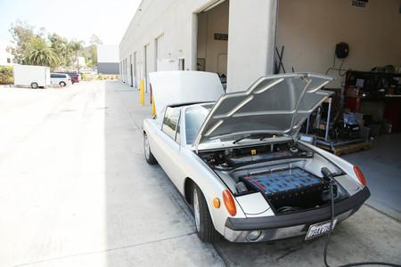 Retrofit coche eléctrico Porsche