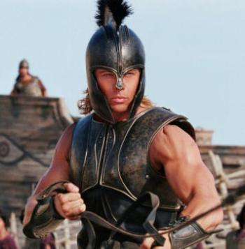 Brad Pitt es Aquiles