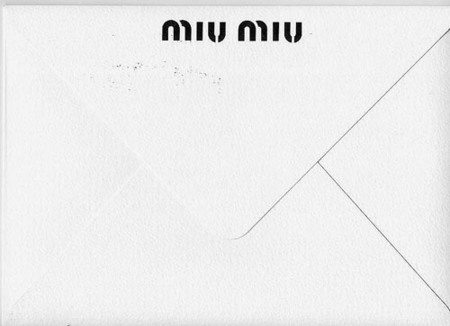 Miu Miu nos escribe