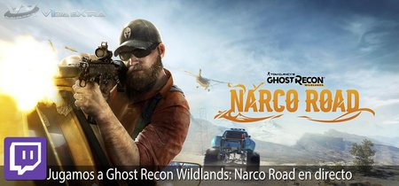 Streaming de Ghost Recon Wildlands: Narco Road a las 19:00h (las 12:00h en Ciudad de México)